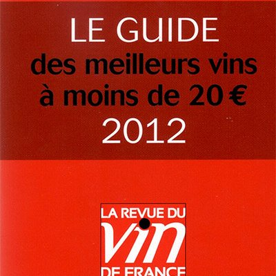 Guide 2012 La Revue du Vin de France